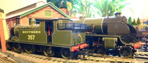Southern Hornby M7 357 and Hornby N15 736 Excalibur