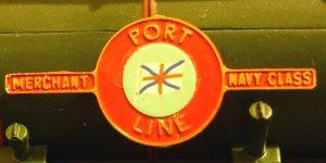 Port Line Nameplate