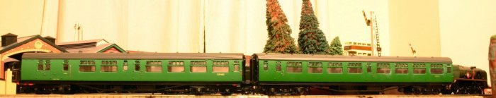 Bulleid flushglaze set