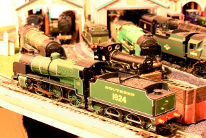 Bachmann N Class Southern Olive Green - cab