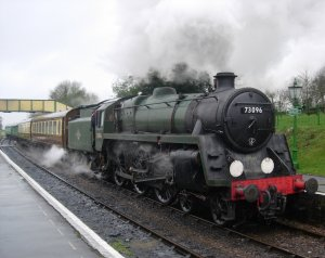 Ropley - BR standard 5MT class 73096