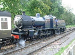 2011 - West Somerset Railway - Crowcombe - SDJR 7F - 88