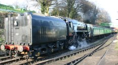 Watercress Railway (Ropley) 9F class - 92212