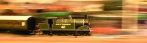 Hornby M7 tank Southern 42 at speed
