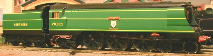 Hornby Westcountry 21C123 Blackmore Vale (1)