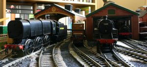 Hornby Q1 Class C1 NRM (on shed)