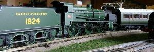 Bachmann N class 1824 tender-first