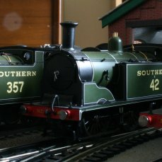 Hornby M7 Tank (3 locos on shed)