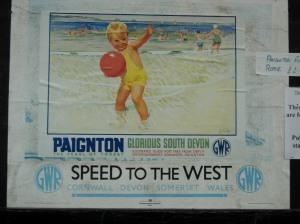 Kingswear (Paignton & Dartmouth Railway) GWR Poster
