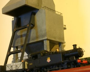 Mainline 56xx 6619 and the coaling tower