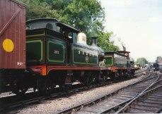 SECR H Class 263 & C Class 592 Sheffield Park (1995)