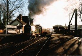 SECR H Class 263 departs Sheffield Park (1997)