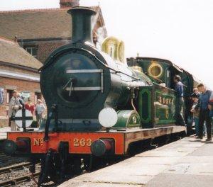 SECR H Class 263 Sheffield Park (1993)
