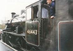 002 - Isfield - Lavender line - Ivatt 2MT 46443