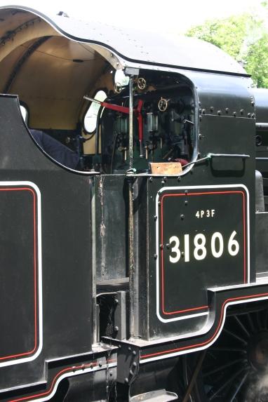 Watercress Railway U class 31806 Alresford 17th June 2012