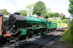 Watercress Railway - Alresford - 850 Lord Nelson 17 June 2012