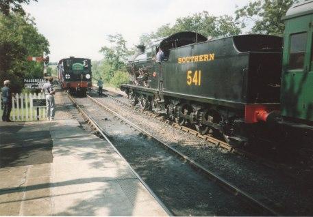 1990s - Sheffield Park - 58850 & Q Class 541