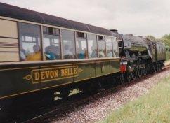 1993 - Approaching Churston - 60103 Flying Scotsman