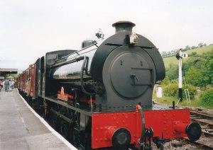 1993 - Buckfastleigh - BR J94 Austerity Tank 68011 Errol Lonsdale