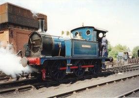 1995 - Sheffield Park - SECR P class 323 Bluebell