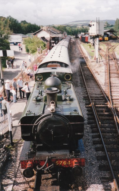 Early 1990s - Buckfastleigh - 57xx Pannier Tank 5761