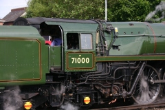 The Diamond Jubilee Express - Eastleigh - 71000 Duke of Gloucester (1)