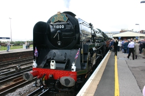 The Diamond Jubilee Express - Eastleigh - 71000 Duke of Gloucester (3)