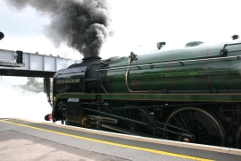 The Diamond Jubilee Express - Eastleigh - 71000 Duke of Gloucester (7)