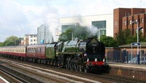 The Diamond Jubilee Express - Eastleigh - 71000 Duke of Gloucester