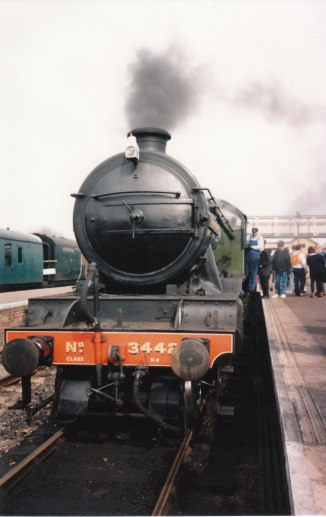 1995 - LNER K4 class - Wansford - 3442 The Great Marquess