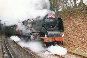 1997 - Medstead and Four Marks - 46229 de-streamlined Duchess of Hamilton (NRM)