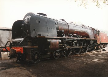 1997 - Ropley - 46229 de-streamlined Duchess of Hamilton (NRM)