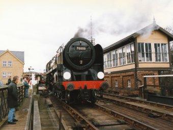 1997 - BR Standard 7MT - Wansford - 70000 Britannia
