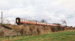 1997 - BR Standard 7MT - Departing Wansford - 70000 Britannia