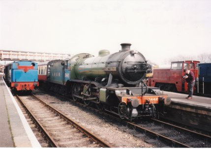 1995 - Wansford - 1 Thomas & K4 class LNER 3442 The Great Marquess