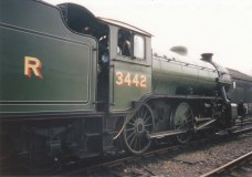 1995 - Wansford - K4 class LNER 3442 The Great Marquess
