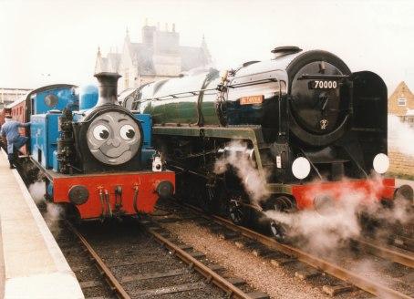 1997 - Wansford - 1 Thomas & 70000 Britannia