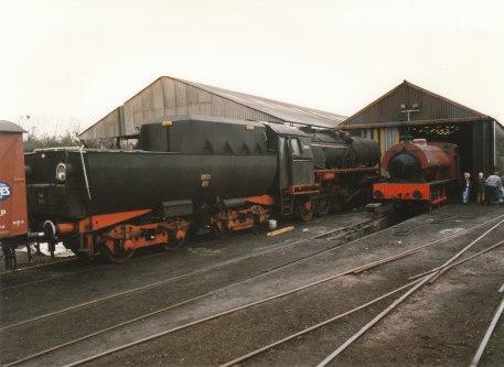1997 - Wansford - (German built ex- Polish State Railways Kriegslokomotiven or Kriegslok)7173