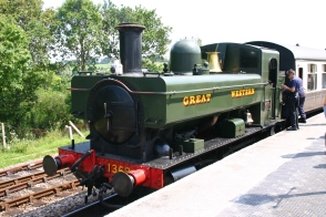 2012 - South Devon Railway - Totnes Littlehempsted - Pannier 1369 (2)