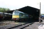 Class 25 D7612 25262 Buckfastleigh 2012