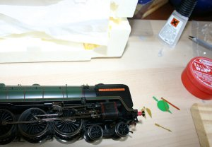 Hornby 70004 William Shakespeare Golden Arrow (5)