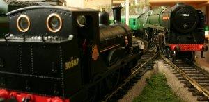 Hornby 7MT 70004 William Shakespeare and Dapol Kernow Beattie Well Tank 30587