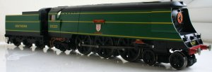Hornby unrebuilt West country class Review 21C123 Blackmore Vale