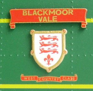 Hornby unrebuilt West country class Review 21C123 Blackmore Vale (Nameplate)