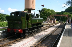 South Devon (Buckfastleigh) Railway GWR Pannier Tank 64xx class 6430