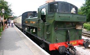 South Devon Railway (Buckfastleigh) GWR Pannier Tank 1366 class 1369