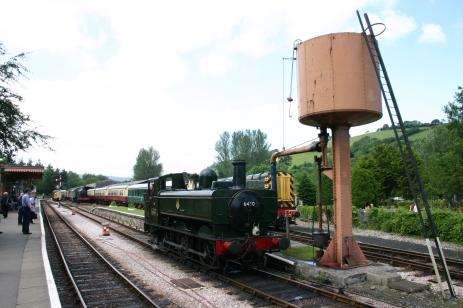 South Devon Railway (Buckfastleigh) GWR Pannier Tank 64xx class 6430 (1)