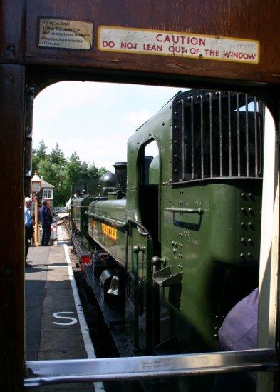 South Devon Railway (Buckfastleigh) GWR Pannier Tank 64xx class 6430 & 1366 class 1369 (1)