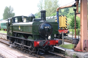 South Devon Railway (Buckfastleigh) GWR Pannier Tank 64xx class 6430 (3)