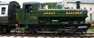 South Devon Railway (Staverton) GWR Pannier Tank 1366 class 1369 (1)